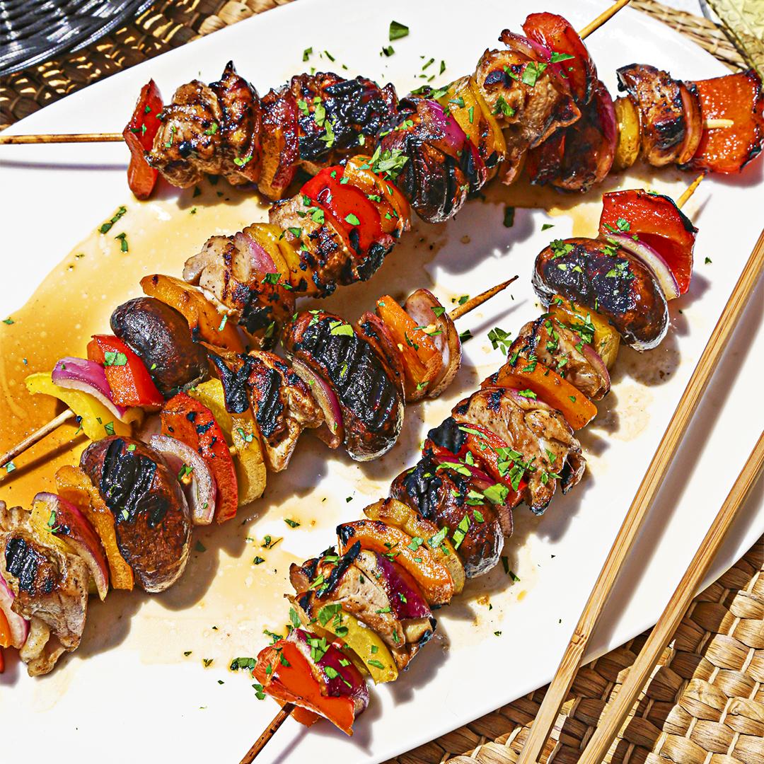 Soy Honey Chicken Kebabs by Misfits Market