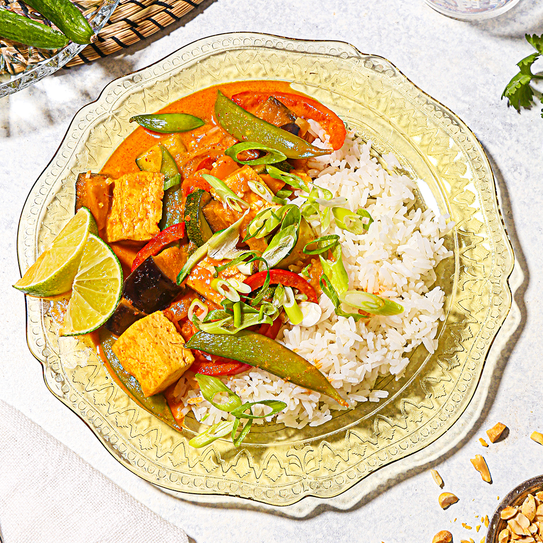 Coconut Curry with Veggies and Protein by Misfits Market