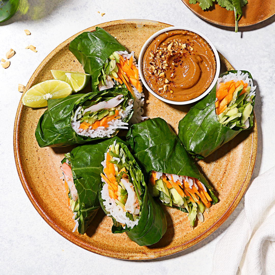 Shrimp Rolls with Peanut Dipping Sauce by Misfits Market